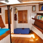 Silverland king size front cabin